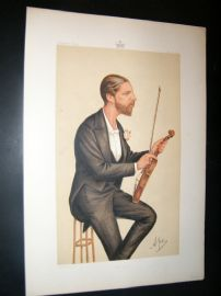 Vanity Fair Print 1874 Duke of Edinburgh, Music
